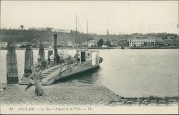 76  DUCLAIR / Le Bac A Vapeur Et La Ville / - Duclair