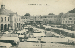 76  DUCLAIR / Le Marché / - Duclair