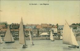 76  DUCLAIR / Les Régates  / Carte Couleur Toilée - Duclair