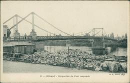76  ELBEUF / Perspective Du Pont Suspendu  / - Elbeuf