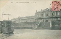 76  ELBEUF / La Gare D'elbeuf Ville   / - Elbeuf