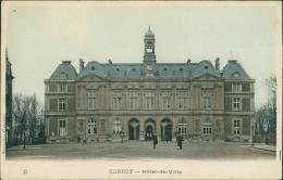 76  ELBEUF / Hotel De Ville  / Carte Couleur - Elbeuf