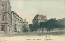 76  ELBEUF / Place Lemercier  / Carte Couleur - Elbeuf
