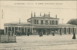 76  ELBEUF / La Gare D'elbeuf Saint Aubin / - Elbeuf