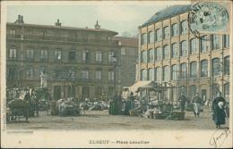 76  ELBEUF / Lplace Lécallier /  Carte Couleur - Elbeuf