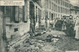 76  ELBEUF / La Rue De L'hospice /   Orage 1908 - Elbeuf