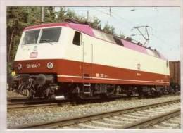 Elektrische Hochleistungslokomotive 120 004 Der DB Einsetzbar Für Den Güterzug - Sowie Schnellstzugdienst - Eisenbahnen