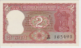 India 2 Rupees ND Pick 53d AUNC - India