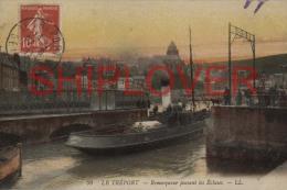 Remorqueur Au Tréport - CPA - Photo/bateau/schiff - Schlepper