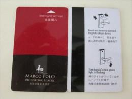 Marco Polo Hong Kong Hotel - Hotel Keycards