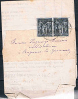 FRANCE MARCOPHILIE   Lettre   Avec 2 N°83 - Marcophilie (Lettres)