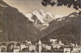 SUISSE - INTERLAKEN - Die Jungfrau - Flamme 1959 - Photo J. Stump - 2 Scans - - BE Berne