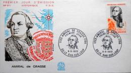 France 1972  FDC Minr.1806  ( Lot 1561 ) - FDC
