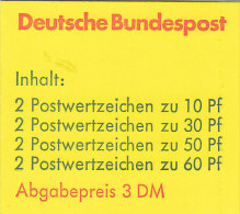 BRD, Markenheftchen 23 A OZ, Postfrisch, Burgen Und Schlösser 1980 - Markenheftchen
