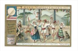 CHROMO LIEBIG... Fêtes Napolitaines.. La Farantelle - Liebig
