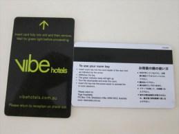 Australia Vibe  Hotels - Hotel Keycards