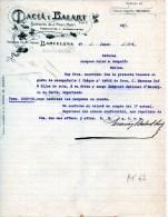 BARCELONA-27-6-1905-DACIA Y BAILART-FABRICANTES Y ALMACENISTAS - Espagne