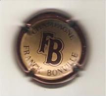 CAPSULE MUSELET CHAMPAGNE FRANCK BONVILLE  MARRON  ET OR - Champagne