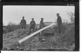Meuse Argonne Tranchées De Cuisy Soldat Us En Surbottes De Tranchée En Caoutchouc 1photo D´un Album Américain Ww1 WwI Wk - War, Military