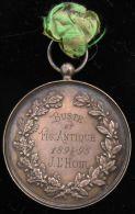 AG01644 PRIX à J.L´HOIR - BUSTE Et FIGURE ANTIQUE - 1894-95 (Ag 36 Gr) LEOPOLD II Au Revers - Belgium