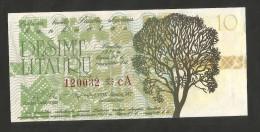 LITHUANIA - 10 LITAURU (1991) - Lituania