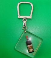 Porte Clés Duponnet Avec Bulle Mobile - Porte-clefs