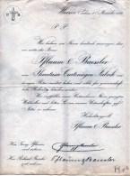 WURZEN-1-11-1882-P.B-W- PHANTASIE-CARTONAGHEN -FABRIK-PFLAUM &BAESLER - Deutschland