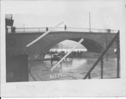 Pont Sur La Moselle Attelage Pompe à Incendie 1 Photo De Presse 1914-1918 14-18 Ww1 WwI Wk - War, Military