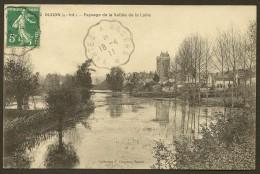 OUDON Paysage De La Vallée De La Loire (Chapeau) Loire Atlantique (44) - Oudon