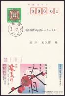Japan Advertising Postcard, Plum Festival, Atami, Postally Used (jadu430) - Interi Postali