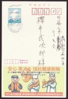 Japan Advertising Postcard, Musical Instruments, Postally Used (jadu442) - Cartes Postales