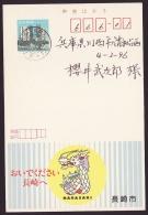 Japan Advertising Postcard, Dragon, Nagasaki City, Postally Used (jadu467) - Interi Postali