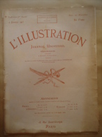 "L'ILLUSTRATION N°3748 2/01/1915 ""MERCI A TOUS""  REIMS -  VERMELLES -  YSER- JOFFRE - BENOÎT XV - Kranten"