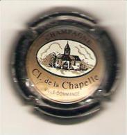 CAPSULE DE MUSELET CHAMPAGNE CL. De La CHAPELLE N°4 CONTOUR NOIR - Autres