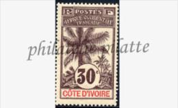 -Côte D'ivoire   28** - Unused Stamps