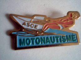 Motonautisme, ASCE - Pin