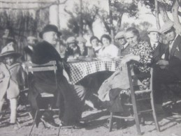 Photo Photographie Reproduction Agrandissement Certainement D´une Petite Photo? La Ciotat En Janvier 1932 - Repro's