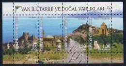 2011 TURKEY THE CITY OF VAN, ITS HISTORY AND NATURAL ASSETS SOUVENIR SHEET MNH ** - Blocks & Kleinbögen