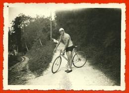 PHOTO Photographie Amateur - Un Sportif - Bicyclette Cyclisme Vélo Cycle Cycliste Coureur - Ciclismo