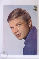 Original & Rare 1960s Postcard - Hardy Kruger - Printed In Spain - Schauspieler
