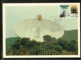 TARJETA MAXIMA ANTENA SEGUIMIENTO ESPACIAL - MAXIMUM CARD SPACE TRACKING ANTENNA - Maximum Cards