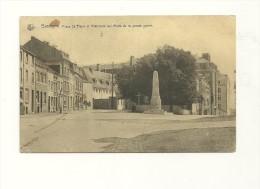 Bastogne : Place Saint Pierre Et Monuments Aux Morts De La Grande Guerre - Bastogne