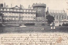 Irelande - Dublin Castle And Chapel Royal / Postmarked 1903 Dublin La Panne Belgique - Dublin