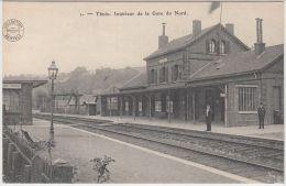 21974g GARE Du NORD - QUAI -Thuin - Thuin