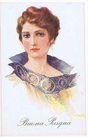 FRANZONI - 1920s ART DECO POSTCARD - GLAMOUR LADY - N. 44 - Illustrateurs & Photographes