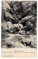 CP, 38, Environs De VINAY - ROVON, Les Gorges De La Drevenne, Voyagé En 1922 - Non Classés