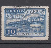Uruguay 1948 Mi Nr 742 Rio-Santa-Lucia Brug, Bridge - Uruguay