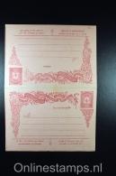 Postes Ottomanes: Carte Postale Avec Réponse Payée 1905 Isfl. AN 85 - 1858-1921 Empire Ottoman