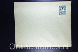 Postes Ottomanes: Letter Enveloppe War Period  Isfl. AN 138,  153 X 123 Mm, Cut Type II - 1858-1921 Empire Ottoman