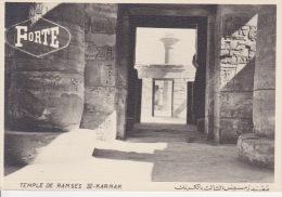 KARNAK AVEC PUBLICITE - Tempel Von Abu Simbel